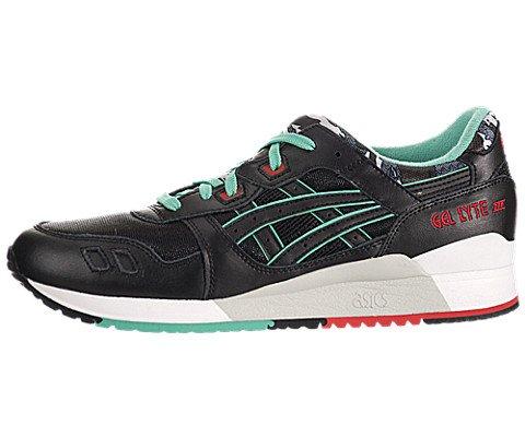 ASICS GEL-Lyte III Unisex Retro Running Sneakers H404L-9090, 7.5