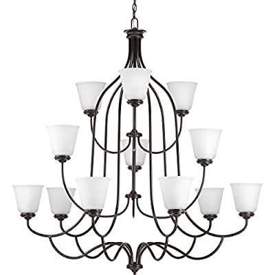 Progress Lighting Traditional/Casual 12-75W Med Chandelier