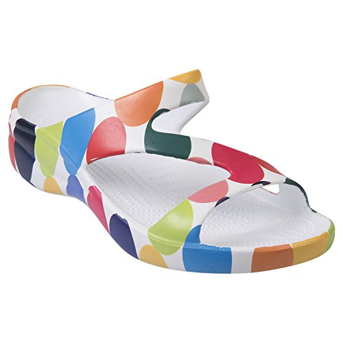 DAWGS Women's Arch Support Loudmouth Z, Disco Balls, 10 ()