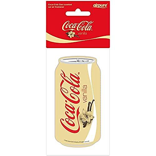 airpure COCA-COLA Vanille CAN autoverfrisser, verfrist het interieur van het voertuig, verfrissers voor mannen en…