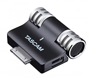 Tascam iM2 High Quality Stereo Microphone for iPhone and iPod Touch