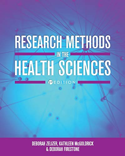 Research Methods in the Health Sciences