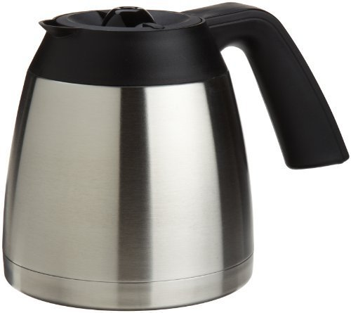Capresso 10-Cup Stainless Steel Thermal Carafe with Lid for MT600 Coffee Maker by Capresso