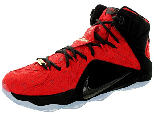 the best store to get nike lebron XII EXT mens hi top trainers 748861 sneakers shoes University Red Black Metallic 600 buy cheap Manchester footlocker pictures pLuLsC8IP