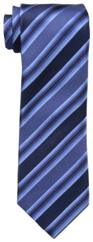 (Kenneth Cole REACTION Men's Tony Stripe Tie, Blue, One Size )