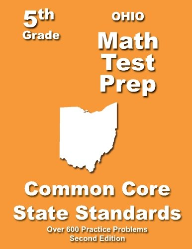 Ohio 5th Grade Math Test Prep: Common Core Learning Standards