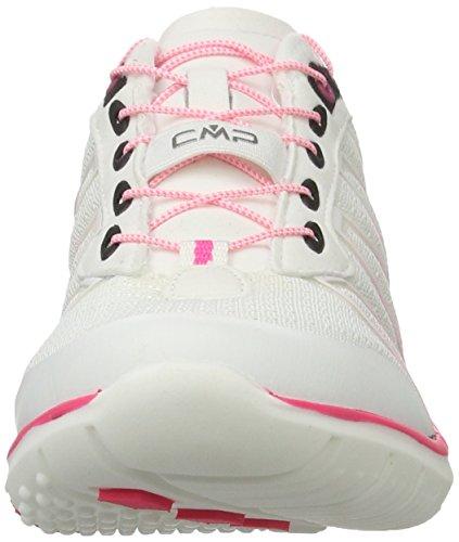 C.P.M. Atlas, Zapatillas Deportivas para Interior para Mujer Blanco (Bianco)