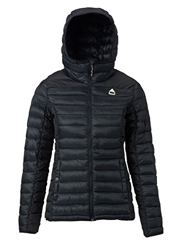 Burton Women's Evergreen Hooded Synthetic Insulator, True Black, Medium