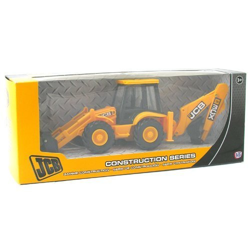 Mighty Toy Farm Series (Jcb Construction Series Backhoe & Loader 1:32 Scale Replica Toy)