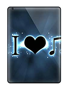 New Cute Funny Music Art Case Cover/ Ipad Air Case Cover