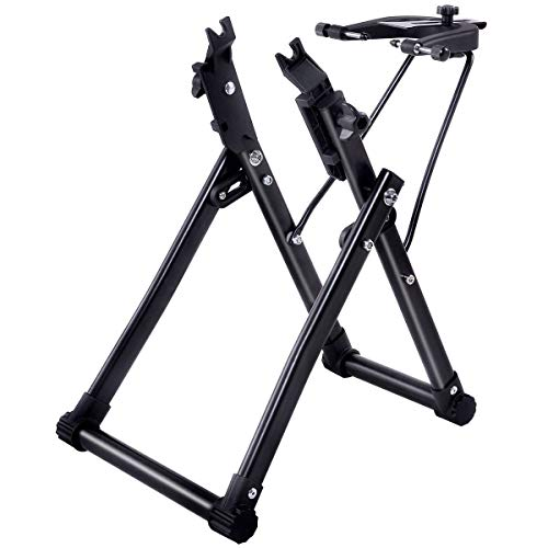 COLIBROX>>>Bike Wheel Truing Stand Bicycle Wheel