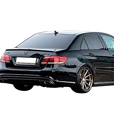 IKON MOTORSPORTS Trunk Spoiler Compatible With 2010-2016 Benz E-Class W212 | AMG Style Painted #0-044 0044 044 Designo Magno Allanitgrau Meta ABS Rear Wing: Automotive