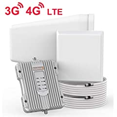 Stop walking around to find a stronger signal! Never experience a dropped or missed call again. Ideal for your home or office. This device captures the cellular signal outside, enhances and rebroadcasts it indoors, so you can enjoy crystal-cl...