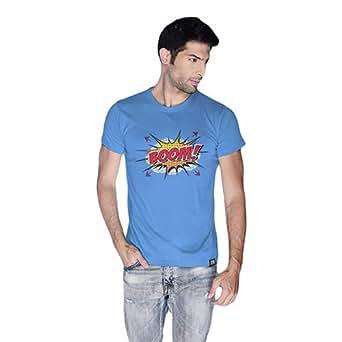 Cero Boom Retro T-Shirt For Men - S, Blue
