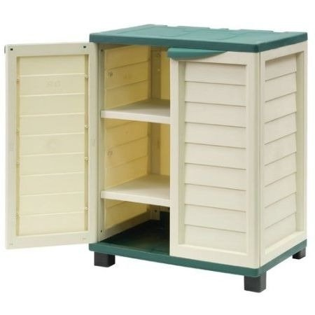 38' Cabinets (Tool Shed ,Patio Cushion Storage,Outdoor Storage Cabinet, 38'' x 29.5 x 20.7 , Green)