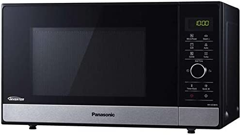 Horno a microondas Panasonic nn-gd38hssug – 23 l 1000 W Negro ...