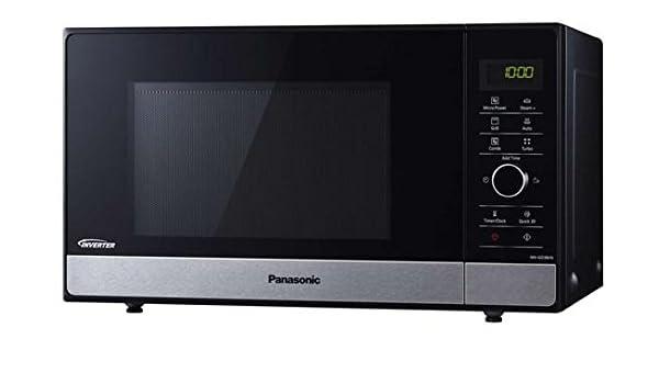 Horno a microondas Panasonic nn-gd38hssug - 23 l 1000 W Negro, Acero: Amazon.es: Hogar