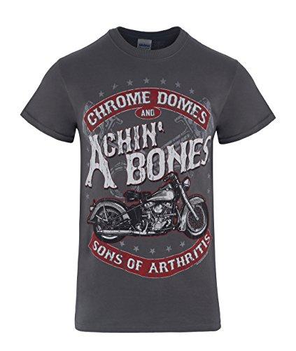Sons of Arthritis Chrome Domes & ACHIN' Bones (Medium) Grey