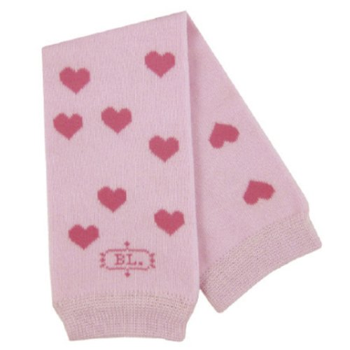 BabyLegs Leg Warmers, Pink/White Stripe,One Size