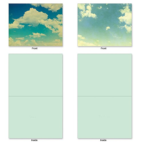 M2036 10 Assorted Blank Note w/Matching