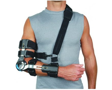 Ossur Innovator X Post-Op Elbow Brace Right by Ossur