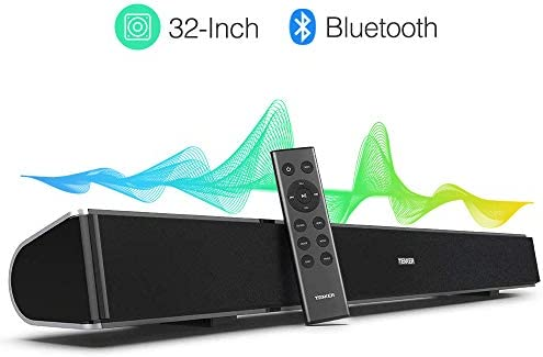 Amazon.com: tenker 32 inch Cable y barra de sonido Surround ...