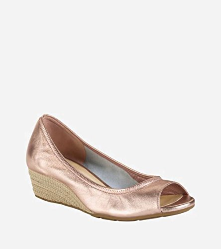 Gold 40 Toe Open Tali Haan Women's Wedge Cole Rose pnqw86Tc