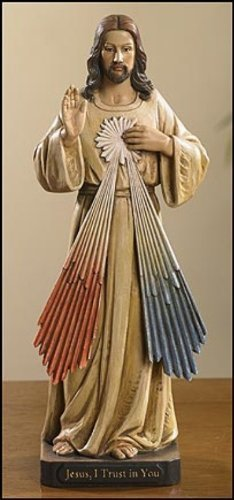 8 H Divine Mercy Statue by Avalon Gallery NEW