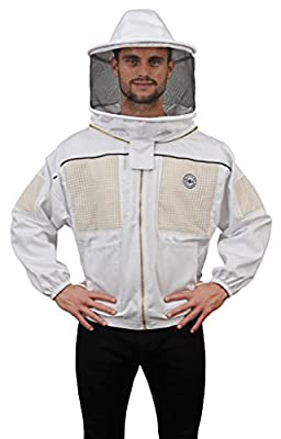 Humble Bee 330 Ventilated Beekeeping Jacket with Round Veil