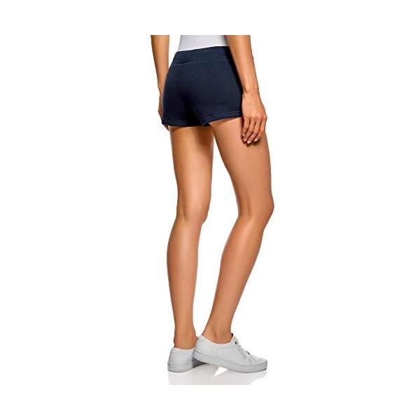 oodji Ultra Donna Pantaloncini Basic in Maglia (Pacco di 5) 2 spesavip
