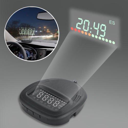 FidgetFidget Monitor Head Up Display GPS, 2.0 Inch GPS Car Head Up Display A1, Auto - Radar Detector Hud