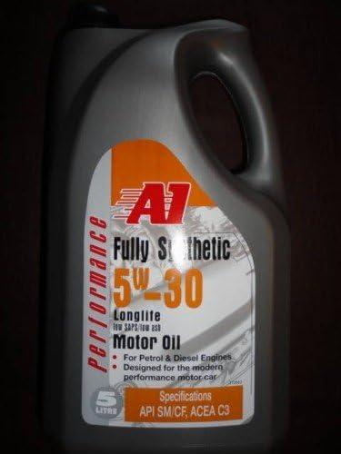 Carlube 5 litros 5 W30 Totalmente sintético Aceite (de gasolina y diésel de la marca A1) para Toyota: Amazon.es: Coche y moto