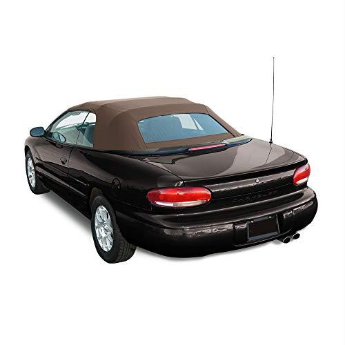 Fits: Chrysler Sebring Convertible Soft Top & Heated Glass window 1996-2006 (Sandalwood) 00 Chrysler Sebring Convertible