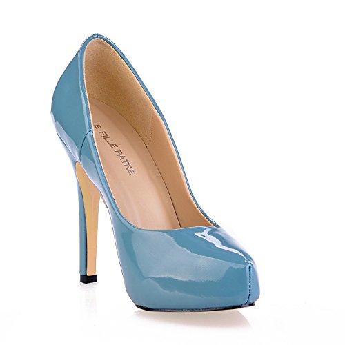 fallen Sie Frauen Klicken High Frauen Schuhe Reife neue auf Heel Nacht Produkt Pearl Sinn die roten einem Boden Skyblue Blue Schuhe dEqqBw
