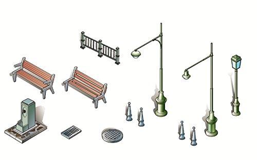 Italeri I6146 Model Kit Urban Accessories on 1:72 Scale