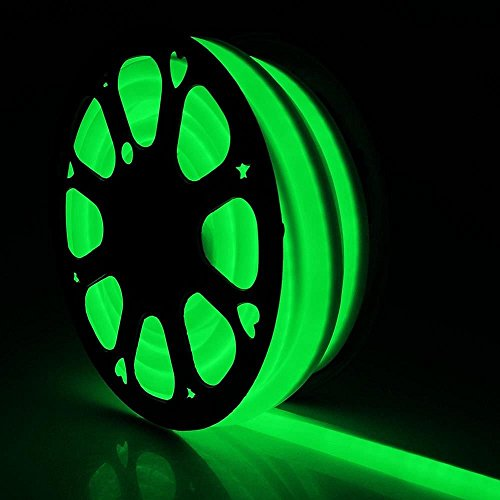150FT Green LED Neon Rope Decorative Lighting Flex Tube Wedding Party Home Xmas Decor In/Outdoor Room Decor Lighting 110V ()