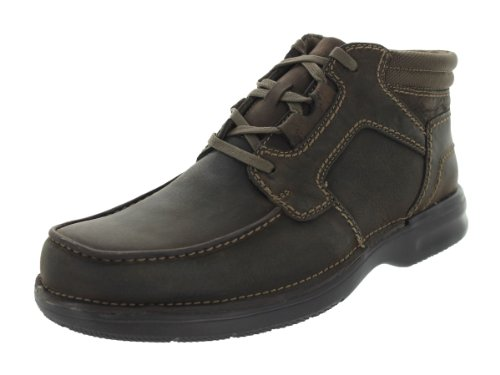 Clarks Mens Cameron Moc Boot Brown