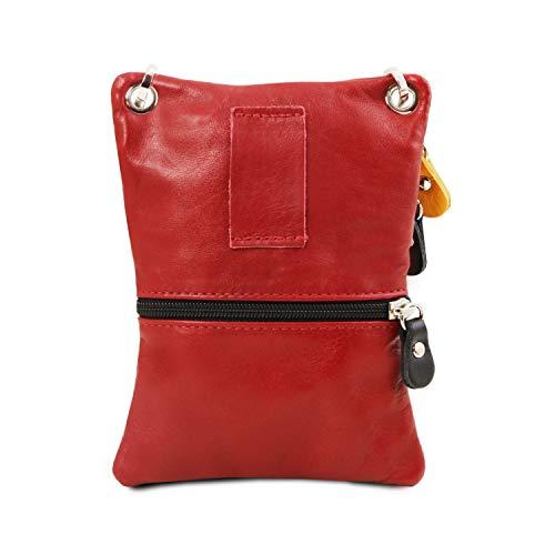 Tuscany Morbida Leather In Tracollina Tlbag Rosso Arancio Pelle XXAnxqPOZw
