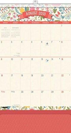 2016 Do It All Secret Garden Magnetic Wall Calendar