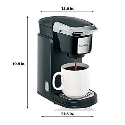 Single Cup Machine - Compatible With K-Cups - by Mixpresso Coffee by Mixpresso Coffee