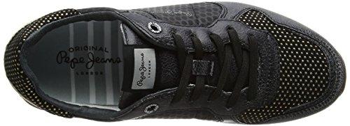 Pepe Jeans Damer Verona Genindspilning Sneaker Sort (sort) bPxsrN