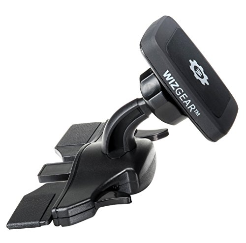 WizGear Universal CD Slot Magnetic Car Mount Holder, for Cell Phones and Mini Tablets with Fast Swift-Snap Technology, [Fits Most Car Cd (Ant Mount)