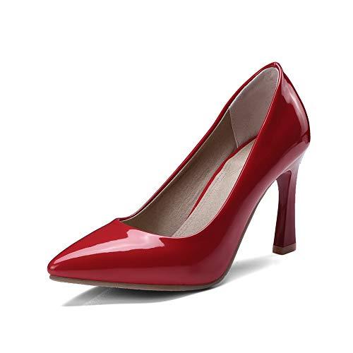 Sandales Rouge Compensées Femme AdeeSu 5 Red SDC05758 36 fqw68gI5n