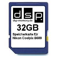 DSP Memory Z-4051557438484 32GB Speicherkarte für Nikon Coolpix B500