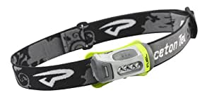Princeton Tec Fuel Headlamp White LED Lime Green/Charcoal Grey Case