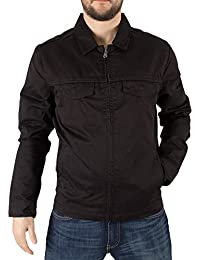 Mens Black Jean Jacket