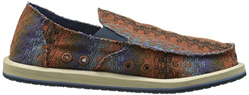 Slip Tribal Brown Sanuk Loafer On Tribal Donny Men's twxqxPHf
