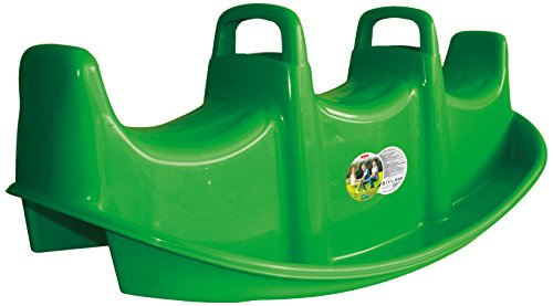 Dolu Crocodile Ride On Rocker Toy, Space for 3 Children, Withstand 150 Pounds of Combined Weight