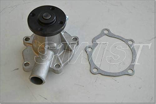 B1750D Wasserpumpe 15534-73030 15851-73030 f/ür B1550D B2150D B5200 B8200 Neue Wasserpumpe passend f/ür Z600 Motor B2150E