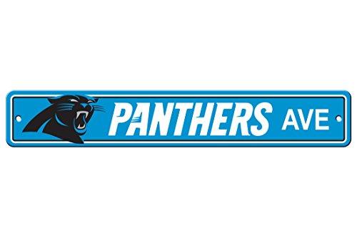 NFL Carolina Panthers Street Sign product image